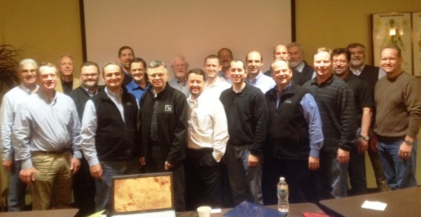 Here is a group photo from our time together in Raleigh, North Carolina